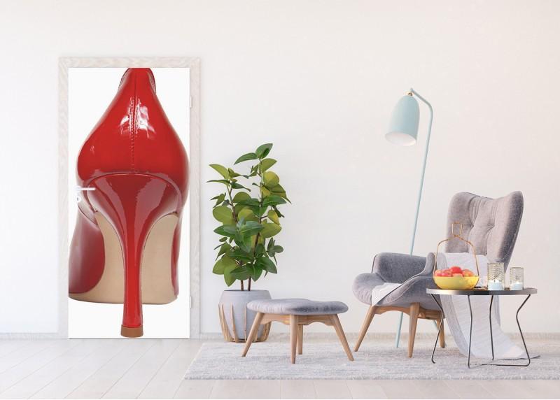 Dámská bota, AG Design, fototapeta ekologická vliesová do obývacího pokoje, ložnice, jídelny, kuchyně, lepidlo součástí balení, 90x202