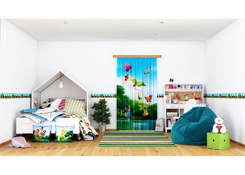 Disney víly za jasného dne, samolepící bordura do dětského pokoje, 5 m x 10 cm, WBD 8085