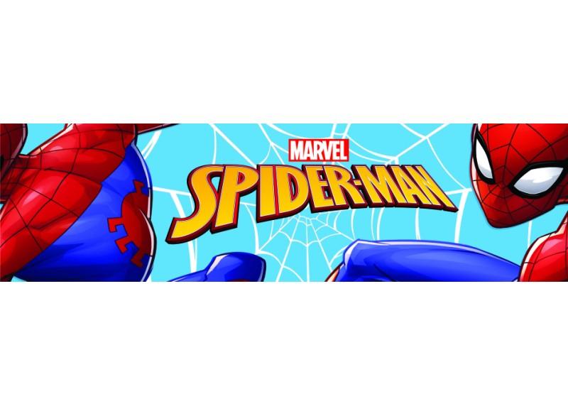 Spider-man, Marvel, samolepící bordura pro dětské pokoje, AG Design 0,14 x 5 m, WBD 8106