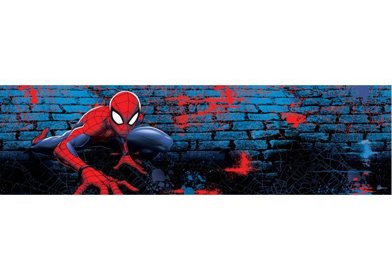 Spider-man, Marvel, samolepící bordura pro dětské pokoje, AG Design 0,14 x 5 m, WBD 8163