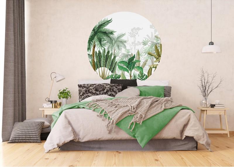Džungle, AG Design, fototapeta ekologická vliesová do obývacího pokoje, ložnice, jídelny, kuchyně, 140x140