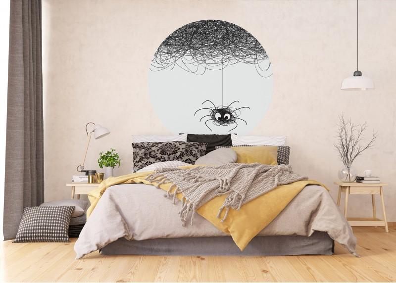 Pavouk, AG Design, fototapeta ekologická vliesová do obývacího pokoje, ložnice, jídelny, kuchyně, 140x140