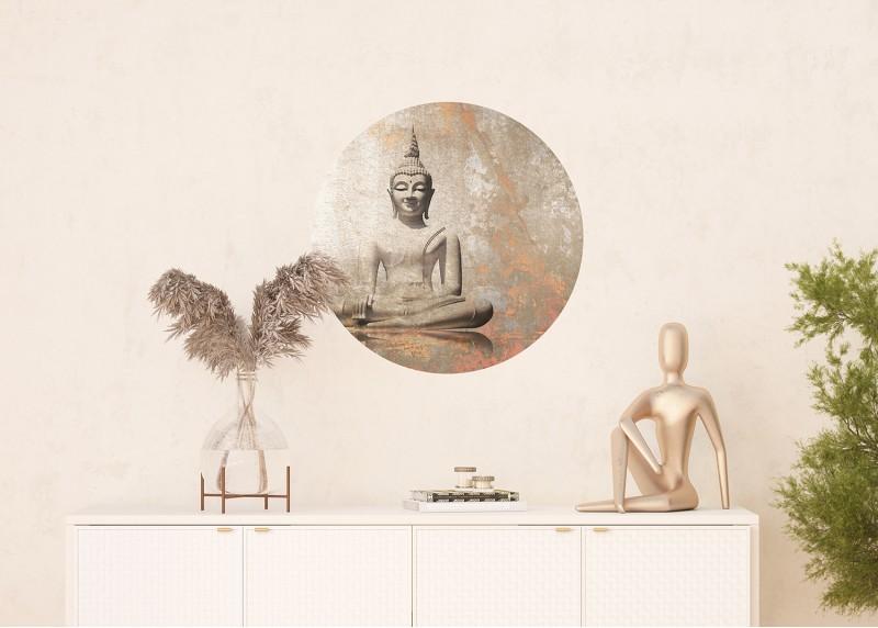 Buddha, AG Design, fototapeta ekologická vliesová do obývacího pokoje, ložnice, jídelny, kuchyně, 70x70