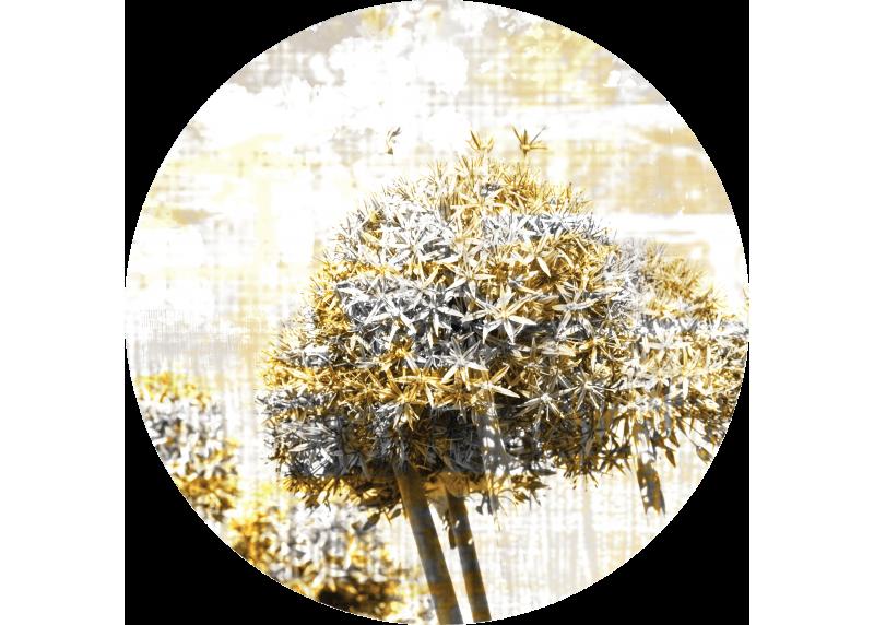 Abstrakce květiny, AG Design, fototapeta ekologická vliesová do obývacího pokoje, ložnice, jídelny, kuchyně, 70x70