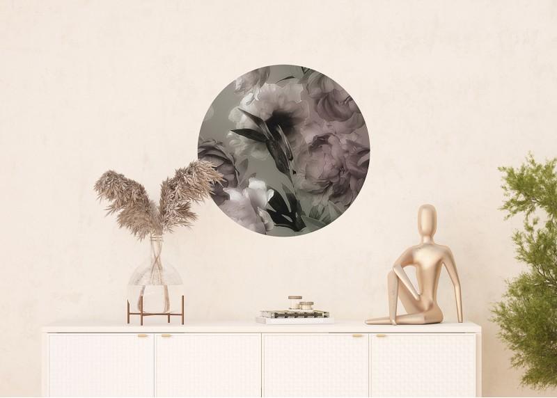 Kouzelné pivoňky, AG Design, fototapeta ekologická vliesová do obývacího pokoje, ložnice, jídelny, kuchyně, 70x70