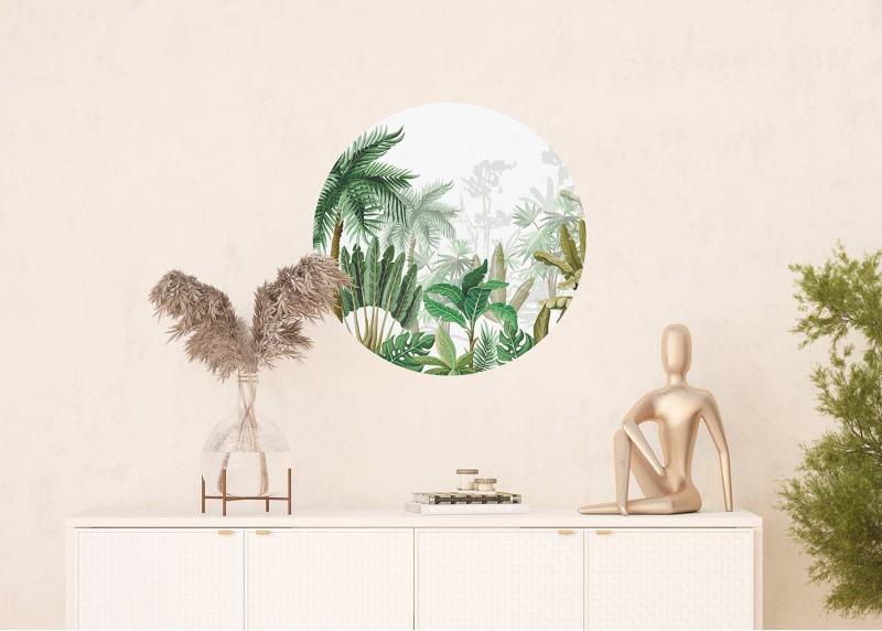 Džungle, AG Design, fototapeta ekologická vliesová do obývacího pokoje, ložnice, jídelny, kuchyně, 70x70
