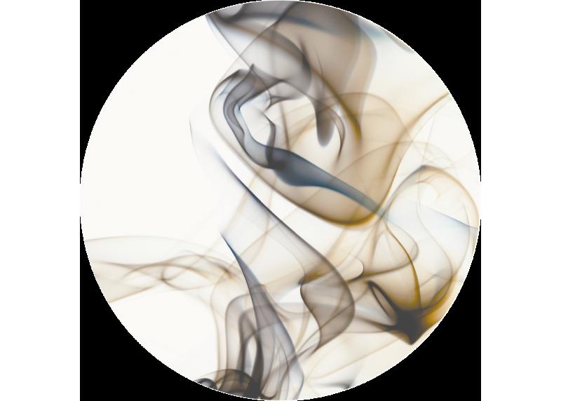 Béžový kouř, AG Design, fototapeta ekologická vliesová do obývacího pokoje, ložnice, jídelny, kuchyně, 70x70