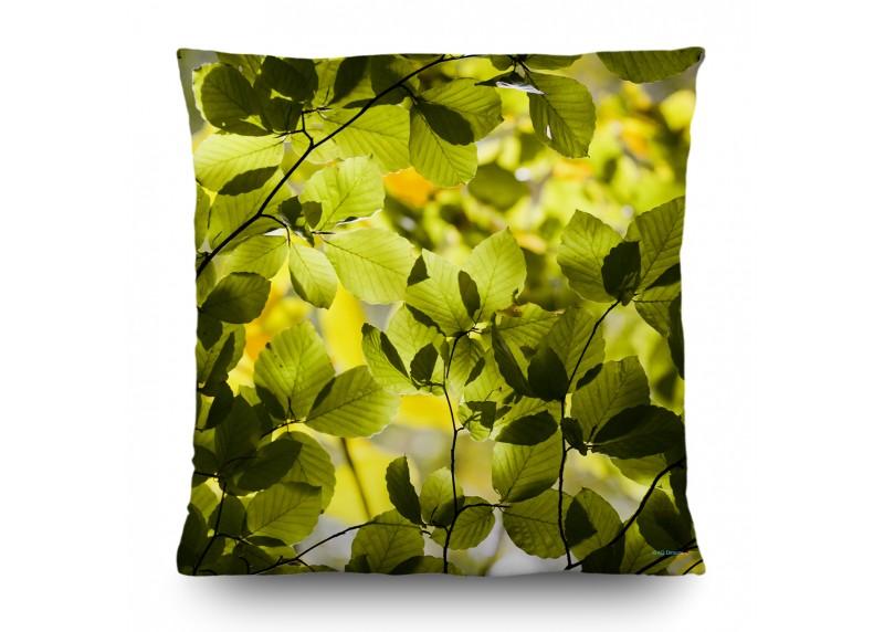 Kouzelný les, dekorativní polštář AG Design, 45 x 45 cm, do obývacího pokoje, kuchyně, ložnice či chaty, CN 3611