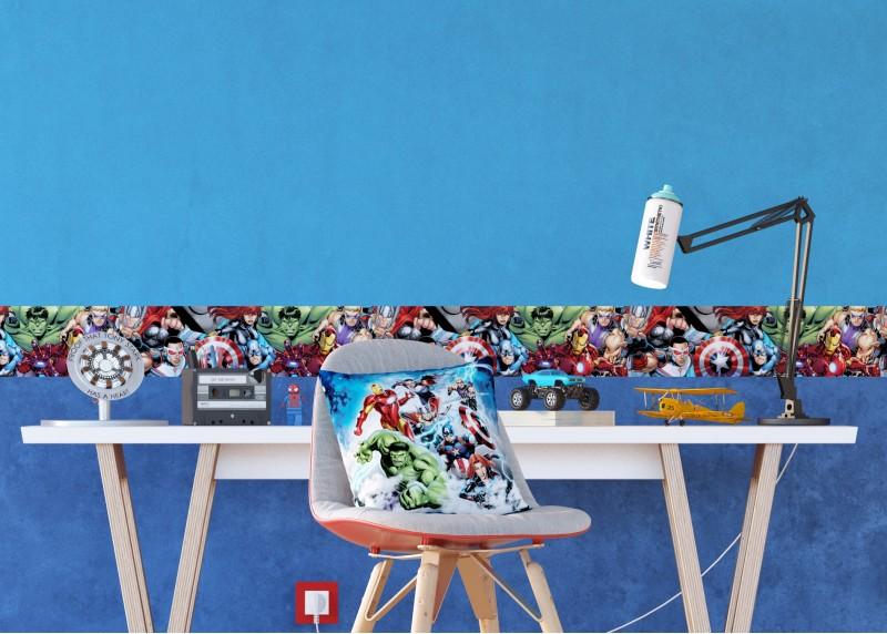 Avengers, Marvel, dekorativní polštář AG Design, pro dětské pokoje, 40 x 40 cm, CND 3137