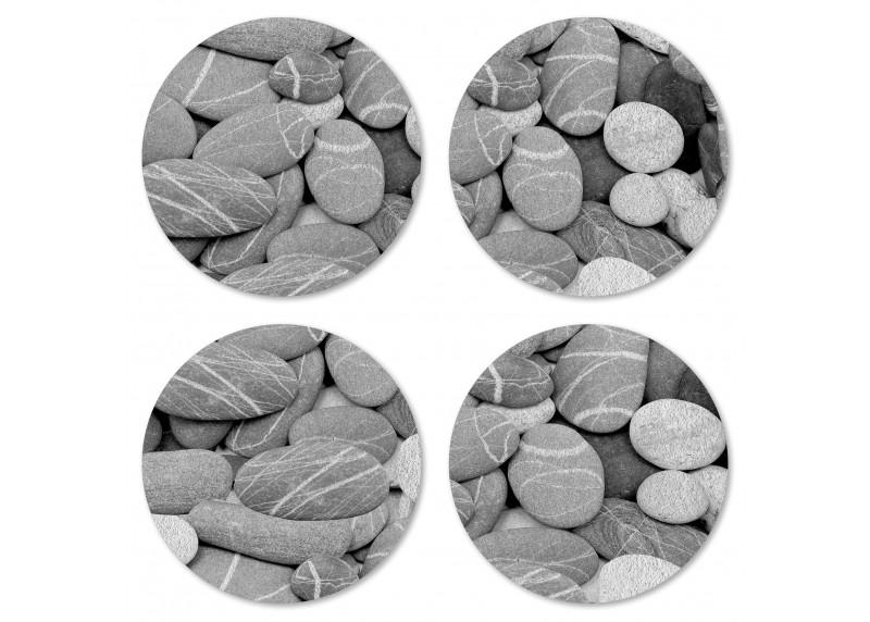 Kameny vybroušené mořskými vlnami, Felt Mat AG Design, 10x10 cm,  FM 4715