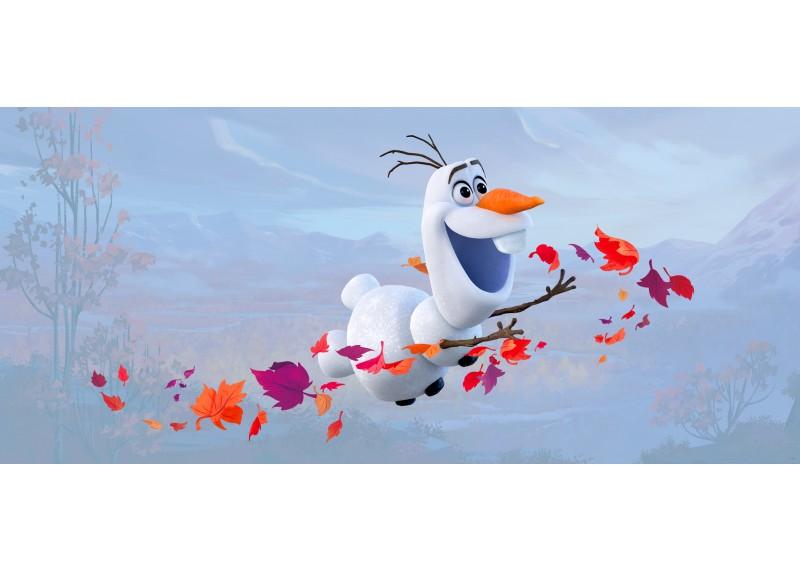 Létající Olaf, Frozen 2, Disney, vliesová fototapeta pro dětský pokoj, 202 x 90 cm, FTDN H 5385