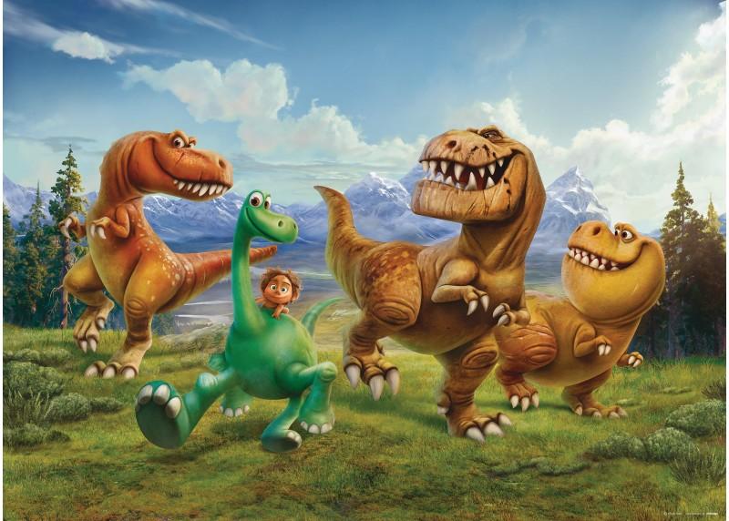 Dinosauři Disney, Disney, vliesová fototapeta pro dětský pokoj, 160 x 110 cm, FTDN M 5241