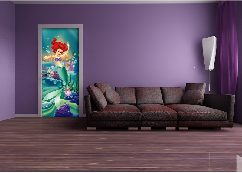 Ariel, Disney, AG Design, fototapeta do dětského pokoje, lepidlo součástí balení, 90x202
