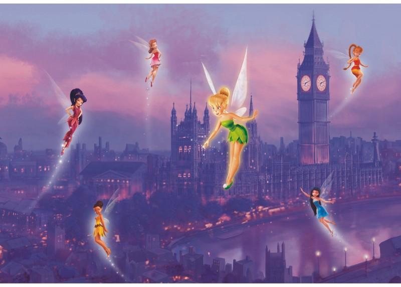 Víly v Londýně, Disney, AG Design, fototapeta do dětského pokoje, lepidlo součástí balení, 360x270