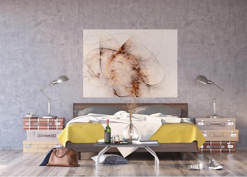 Abstrakce oheň, AG Design, fototapeta ekologická vliesová do obývacího pokoje, ložnice, jídelny, kuchyně, lepidlo součástí balení, 160x110