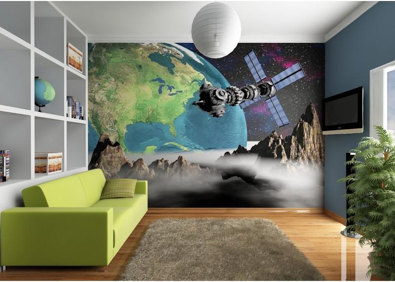 Kosmos, AG Design, fototapeta ekologická vliesová do obývacího pokoje, ložnice, jídelny, kuchyně, lepidlo součástí balení, 360x270