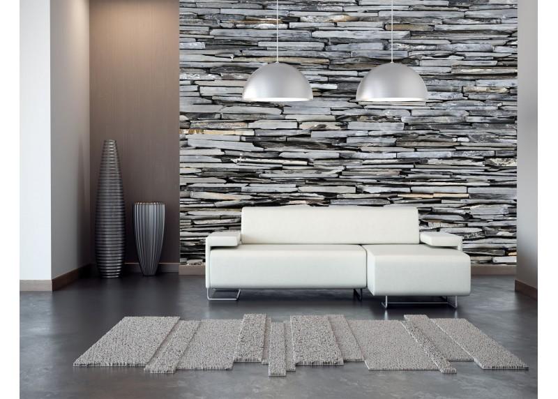 Břidlicový kámen, AG Design, fototapeta ekologická vliesová do obývacího pokoje, ložnice, jídelny, kuchyně, lepidlo součástí balení, 360x270