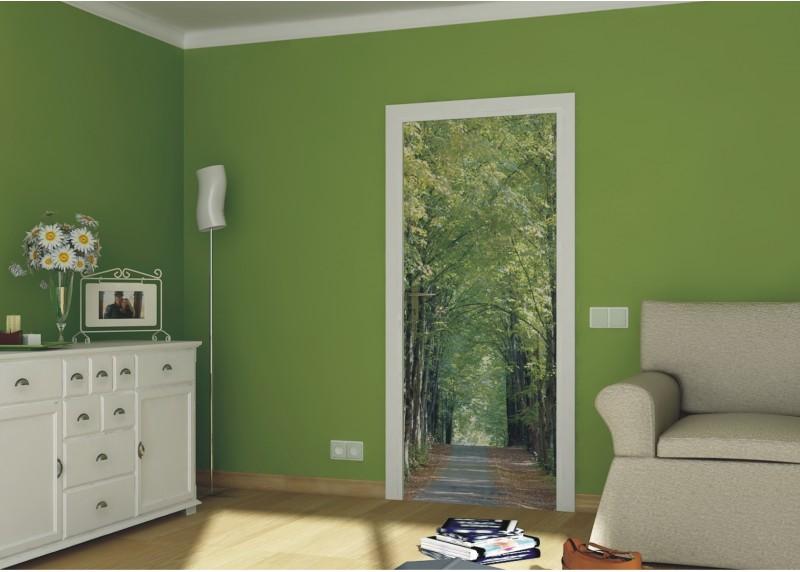 Alej, AG Design, fototapeta ekologická vliesová do obývacího pokoje, ložnice, jídelny, kuchyně, lepidlo součástí balení, 90x202