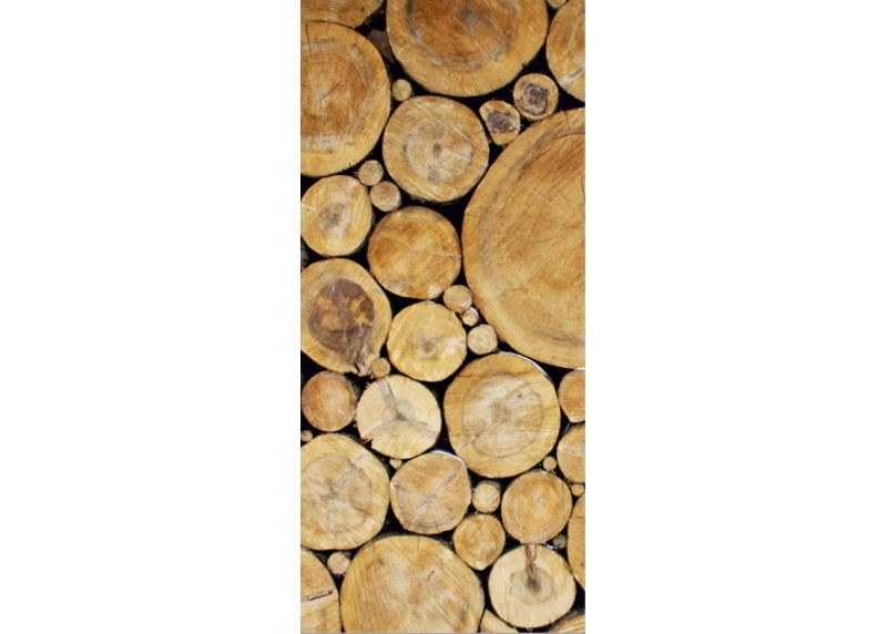 Dřevo, AG Design, fototapeta ekologická vliesová do obývacího pokoje, ložnice, jídelny, kuchyně, lepidlo součástí balení, 90x202