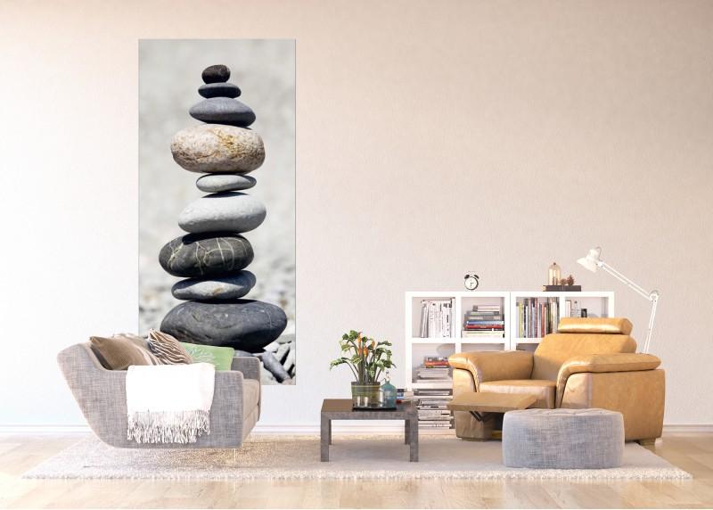 Kamenná pyramida, vliesová fototapeta do obývacího pokoje, ložnice, jídelny, kuchyně či chaty, AG Design, 90 x 202 cm, FTN V 2871