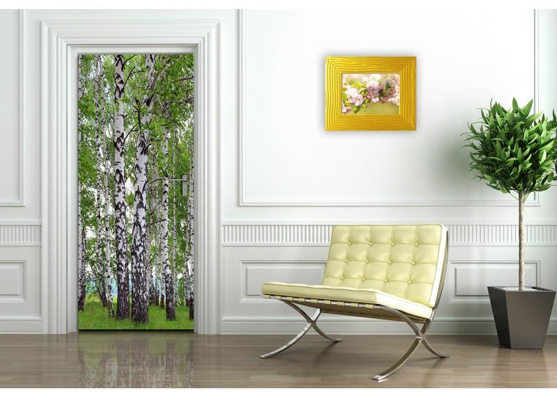 Břízy, AG Design, fototapeta ekologická vliesová do obývacího pokoje, ložnice, jídelny, kuchyně, lepidlo součástí balení, 90x202