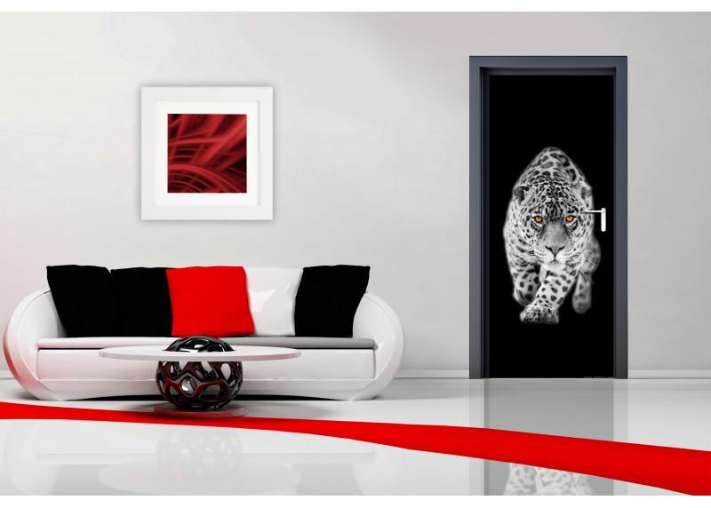 Levhart, AG Design, fototapeta ekologická vliesová do obývacího pokoje, ložnice, jídelny, kuchyně, lepidlo součástí balení, 90x202
