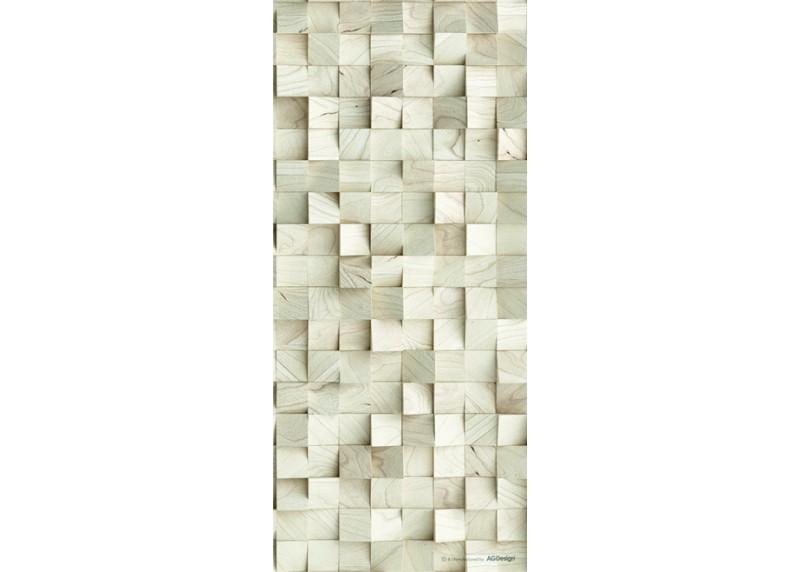 3D Abstrakce kostky, AG Design, fototapeta ekologická vliesová do obývacího pokoje, ložnice, jídelny, kuchyně, lepidlo součástí balení, 90x202