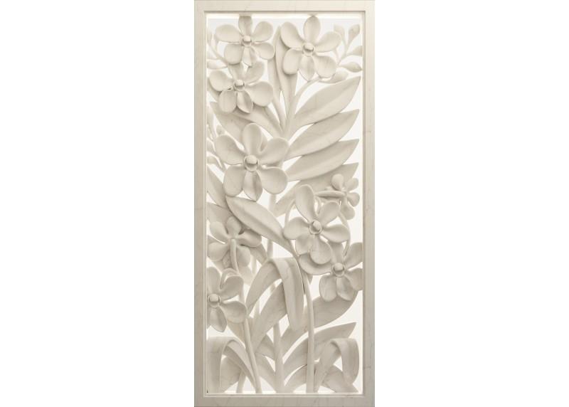 3D květinový reliéf, vliesová fototapeta do obývacího pokoje, ložnice, jídelny, kuchyně či chaty, AG Design, 90 x 202 cm, FTN V 2952