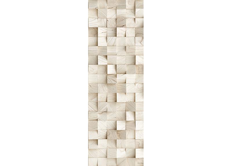 3D Abstrakce kostky, AG Design, fototapeta ekologická vliesová do obývacího pokoje, ložnice, jídelny, kuchyně, lepidlo součástí balení, 90x270
