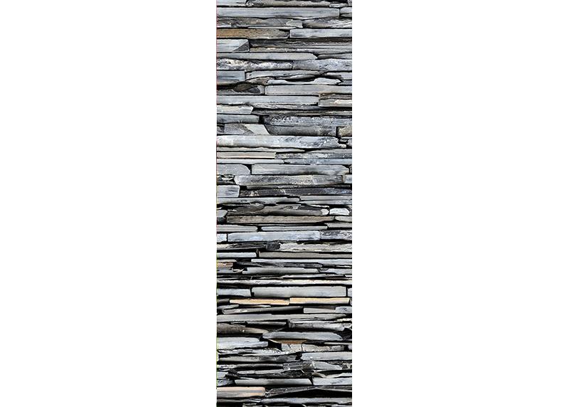 Břidlicový kámen, AG Design, fototapeta ekologická vliesová do obývacího pokoje, ložnice, jídelny, kuchyně, lepidlo součástí balení, 90x270