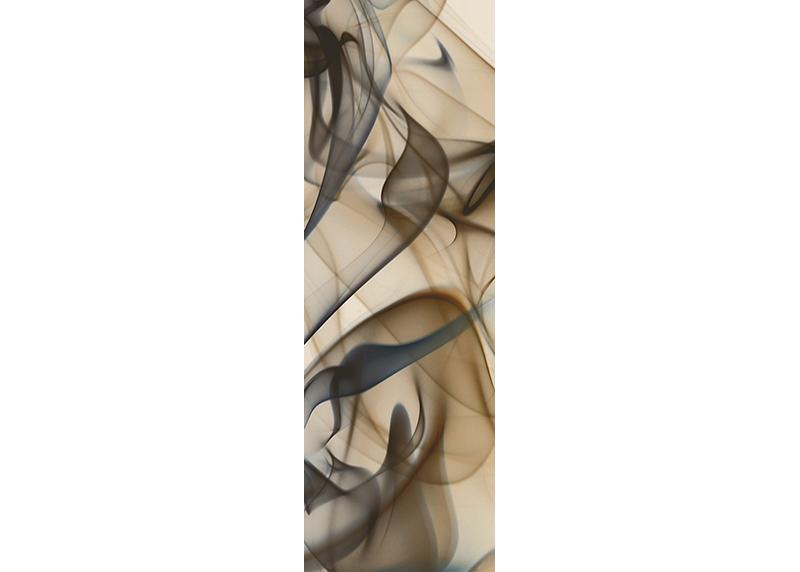 Béžový kouř, AG Design, fototapeta ekologická vliesová do obývacího pokoje, ložnice, jídelny, kuchyně, lepidlo součástí balení, 90x270