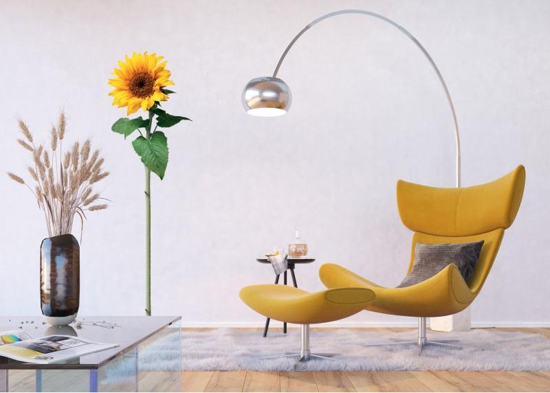 Samolepka na zeď,  AG Design, F 0476, Slunečnice, 65x85 cm