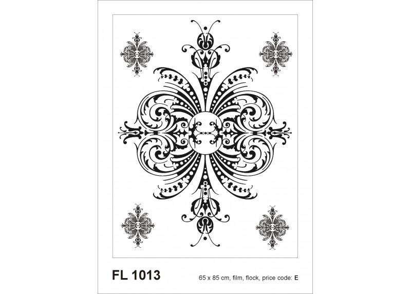 Samolepka na zeď,  AG Design, FL 1013, Ornament, 65x85 cm